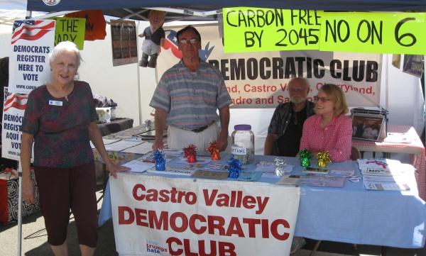 Castro Valley Democratic Club - California